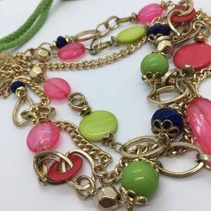 Ruby Rd. Jewelry - Ruby Rd. Goldtone Acrylic Necklace
